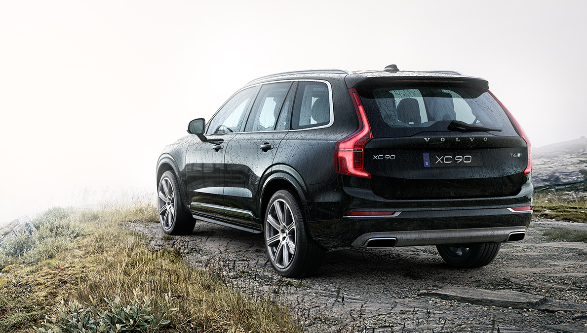 Volvo xc90 facebook share image